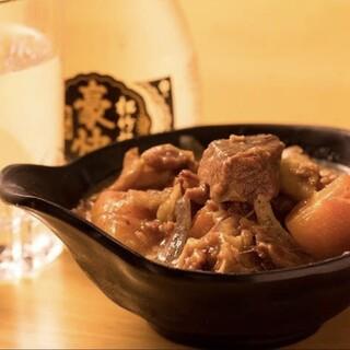 塩モツ煮込みや「五郎メニュー」☆お酒のおつまみにぴったり◎