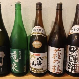お料理と合う全国各地の地酒をご用意☆季節の日本酒もおすすめ