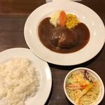 キッチン umasan - 自家製シチューソース ハンバーグ