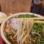 旭屋 - 麺リフト~ 少し柔麺