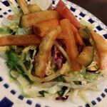 Halima kebab biryani - ウエチェンナマムサムセットのサラダ
