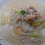 8番らーめん麺座 - 塩野菜麺
