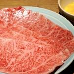 焼肉 MIYAKOYA - サーロインのすき焼き