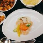 中国料理 桃煌 - エビの塩炒め