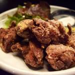 釜焼鳥本舗 おやひなや - 鳥料理屋さんの特製からあげ!