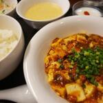 龍香 - 料理写真:麻婆豆腐ランチ