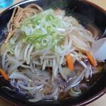 札幌ラーメン 味来 - 「野菜ラーメン 正油」①