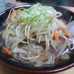 札幌ラーメン 味来 - 「野菜ラーメン」④