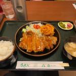 レストラン八白 - 料理写真:ポークチャップ定食
