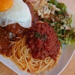 カフェ クイック - ミートソースのスパゲッティアップ