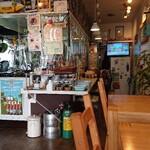カフェ クイック - お店の中の様子
