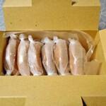 ヰザワドーナツ - ドーナツの入った紙箱