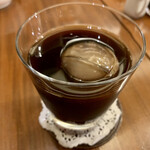 茶豆珈琲 - アイスコーヒー