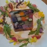BISTRO INOCCHI - 目にも鮮やかな野菜と穀物のテリーヌ