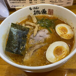 らーめん桃源 - 料理写真:辛味噌中太。