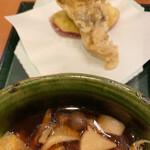 越後長岡 小嶋屋 - 天ぷら2種と