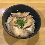 広島らーめん 平の家 - チャーシュー丼 250円