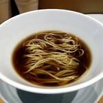 本町製麺所 阿倍野卸売工場 中華そば工房 - 名物中華そば(別皿トッピング)  3杯目