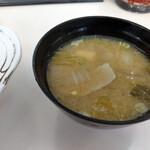 キッチン南海 - サービス豚汁~☆