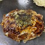 お好み焼き&てっぱん屋 日々来 - 料理写真:そば肉玉680円税別