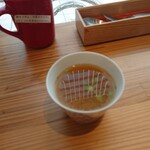 139032599 - スープは長崎の焼きあごの麦味噌汁 202010