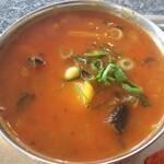 139037644 - 茄子とエノキとジャガイモのカレー