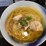 139038364 - 塩らあめん鶏チャーシュー。日本で一番美味しい塩ラーメンだと思う。