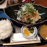 和食処 五島 - 冷やし豚しゃぶおろしポン酢定食