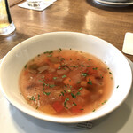 トスカーナ - ビーツのスープ