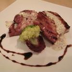 Osteria EST ! - イタリア産ホエー豚ベーコンのグリル