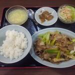 順香 - 豚肉・長ネギの中国炒め