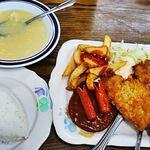 やんばる食堂 - 料理写真:Aランチ