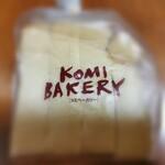コミベーカリー - 料理写真:みみまで美味しい食パン(1斤) ¥320