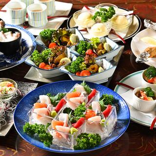 魚屋の本気‼毎日変わる贅沢な\飲み放題付5,000円コース/