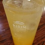 大連食府 - ドリンク写真:オレンジサワー写真には撮りきれないな色々飲んだ