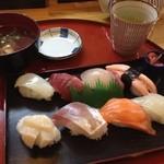 寿司若林 - 2012.7.16 800円