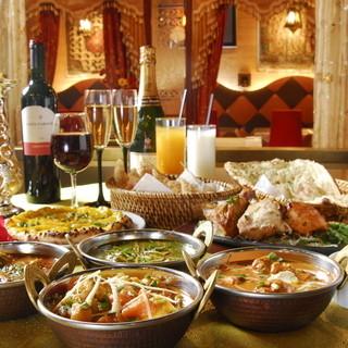 本格インド・パキスタン料理が楽しめる!