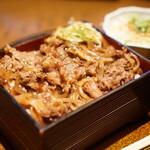 Tenagaashinaga - 焼肉重1580円