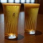 Tenagaashinaga - サービスドリンクのビール