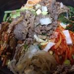 韓国惣菜の店 扶餘 - プルコギビビンバ丼