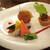 リストランテ ディ・カナレット - アンティパスト・ミスト イワシのマリネ、野菜のトルタ、アランチーノ