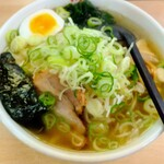 ラーメン華門 - 料理写真:田舎風野菜ラーメン塩