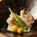 鮨 乃すけ  - 甘鯛の松笠焼き