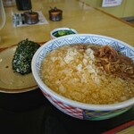どんどん - 料理写真:モーニング むすび1 [¥420] / 天かす [¥40]