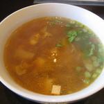 欧風酒場ナベ - ランチのスープ