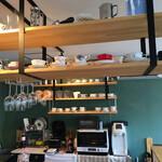 caffe Sole・Luna - いろんな種類のカップandソーサ