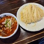 麺屋 茅根 - 辛味噌つけ麺