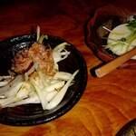 139086003 - 島ラッキョウ、じーまみ豆腐