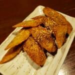 手作り料理と地酒 おと - 手羽揚げ(甘ダレ)