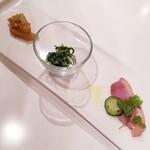 ワイエスオーツー - 前菜3種